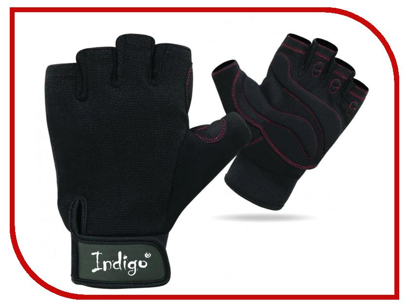 Перчатки атлетические Indigo SB-16-1575 размер L Black гарнитура stenn sb 300n black