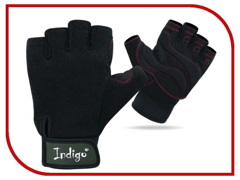 Перчатки атлетические Indigo SB-16-1575 размер XL Black гарнитура stenn sb 300n black