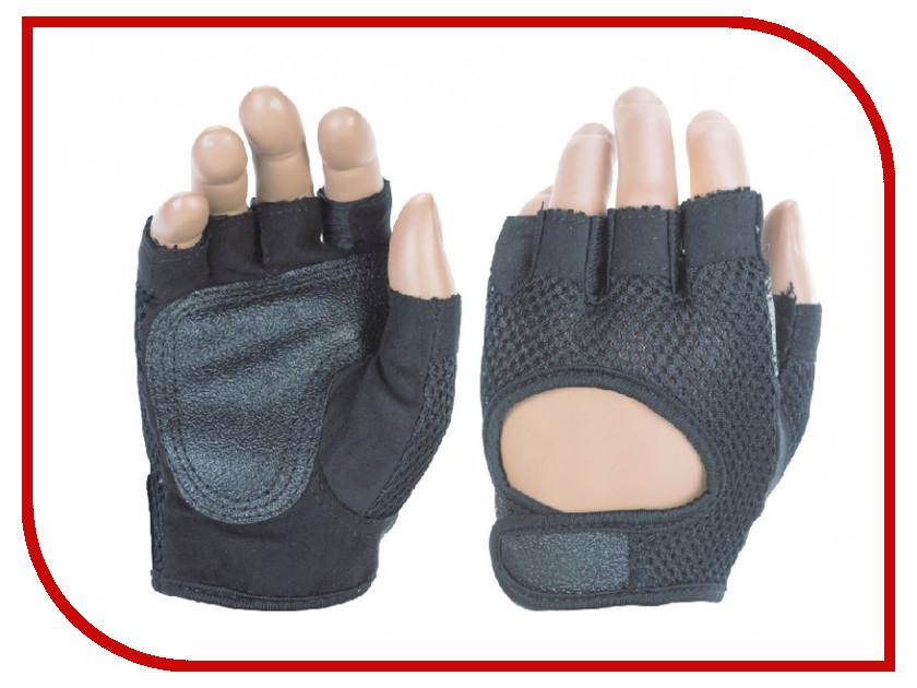 Перчатки атлетические Indigo 97877 IR размер L Black кольца гимнастические на стропах indigo 97654 ir