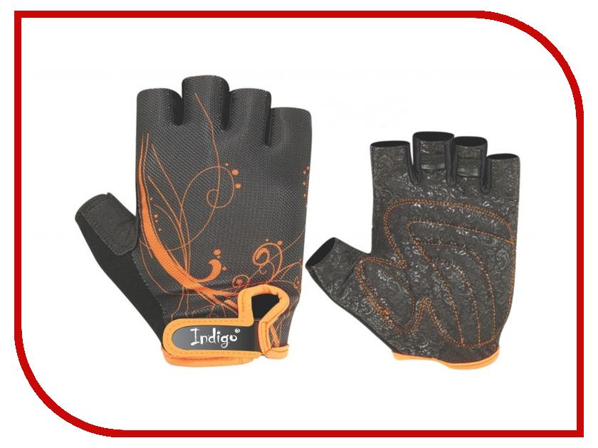 все цены на Перчатки атлетические Indigo SB-16-1743 размер S Black-Orange