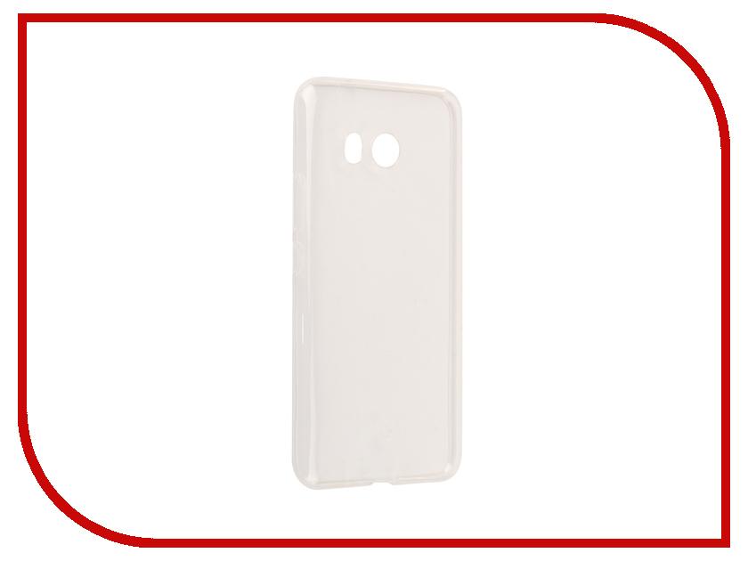 Аксессуар Чехол для HTC U11 Svekla Silicone Transparent SV-HTUU11-WH свеча q20pr u11 применяемость