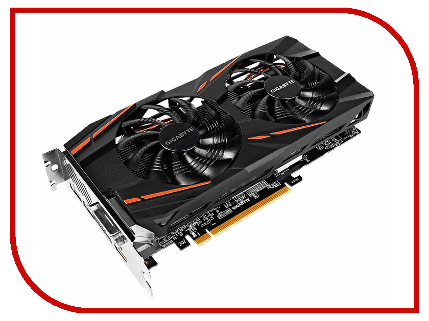 Видеокарта GigaByte Radeon RX 580 Gaming 8G MI 1340MHz PCI-E 8192Mb 8000Mhz 256bit DVI-D HDMI GV-RX580GAMING-8GD-MI OEM видеокарта gigabyte 8192mb rx 580 gv rx580gaming 8gd 3xdp hdmi dvi ret
