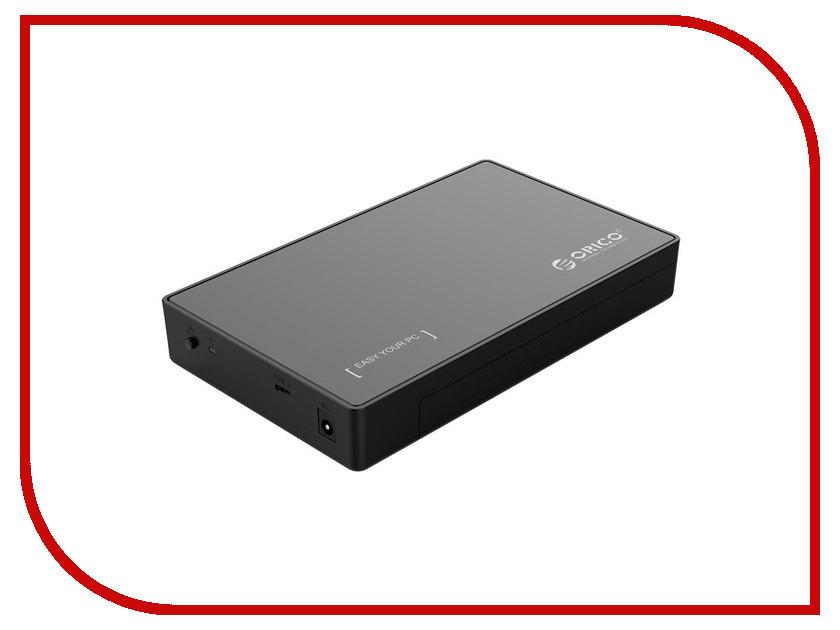 Контейнер для HDD Orico 3588C3 Black контейнер для hdd orico ns200u3 black