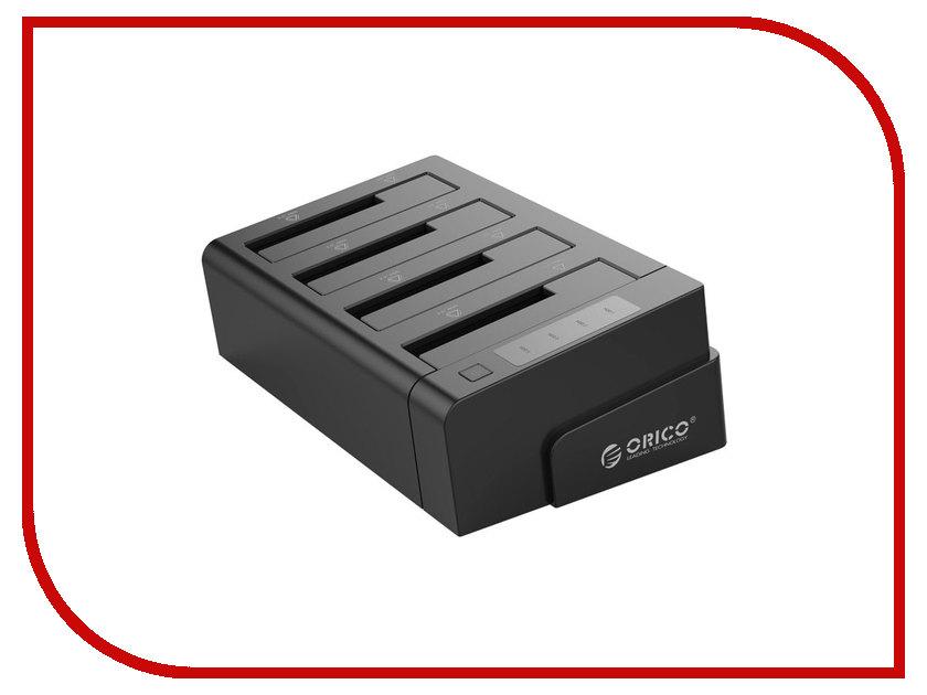 Аксессуар Док-станция для HDD Orico 6648US3-C Black аксессуар док станция iqfuture для samsung microusb iq sds02 black 90846