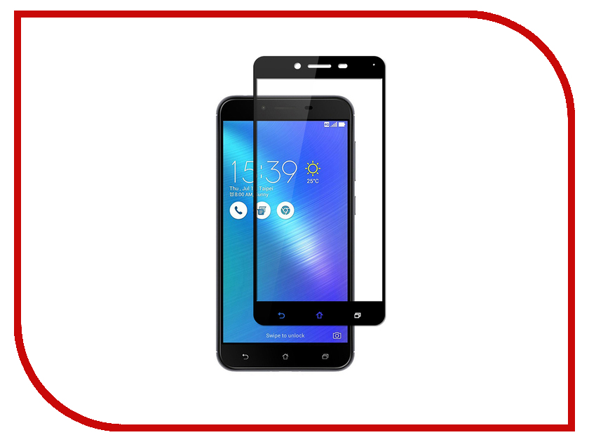 Аксессуар Защитное стекло ASUS ZenFone 4 Max ZC554KL Svekla Full Screen Black ZS-SVASZC554KL-FSBL