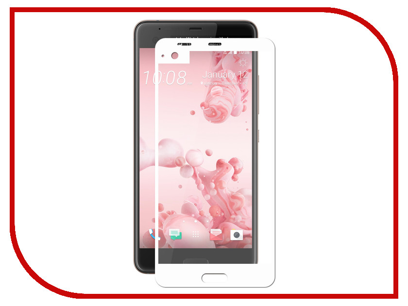Аксессуар Защитное стекло HTC Ultra Svekla Full Screen White ZS-SVHTCULTRA-FSWH аксессуар защитное стекло oneplus 5 svekla full screen white zs svonp5 fswh