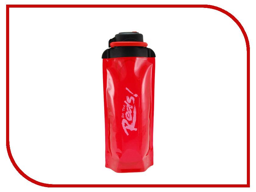 Бутылка VITDAM 700ml Red поильники vitdam складная эко бутылка с карабином 500 мл