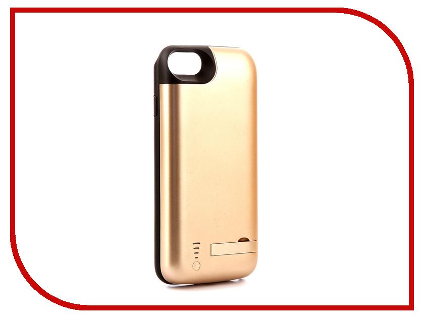 где купить Аксессуар Чехол-аккумулятор Activ JLW 7GD-2 для iPhone 7 / 8 5500mAh Gold 77546 дешево