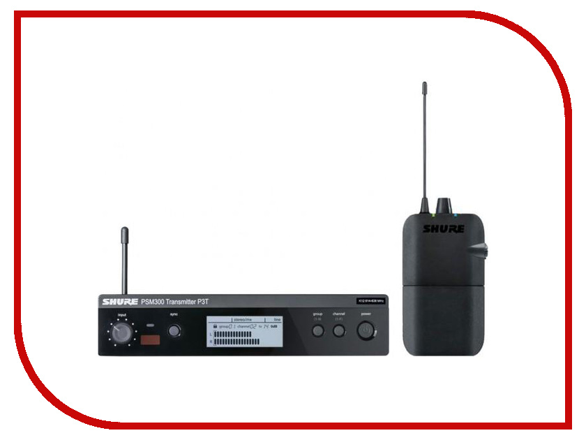 Радиосистема Shure P3TERA M16