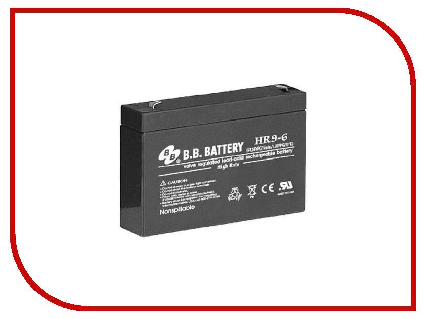 Аккумулятор для ИБП B.B.Battery HR 9-6
