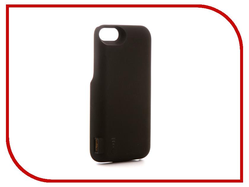 Аксессуар Чехол-аккумулятор Activ JLW 7GD-2 для iPhone 7 / 8 5000mAh Black 77549 аксессуар защитное стекло activ 3d gold для apple iphone 7 69556