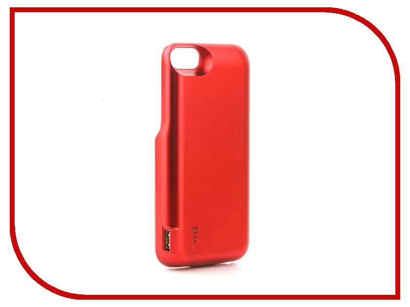 Аксессуар Чехол-аккумулятор Activ JLW 7GD-2 для iPhone 7 / 8 5000mAh Red 77551 аксессуар чехол накладка micromax canvas viva a106 activ silicone black mat 46857