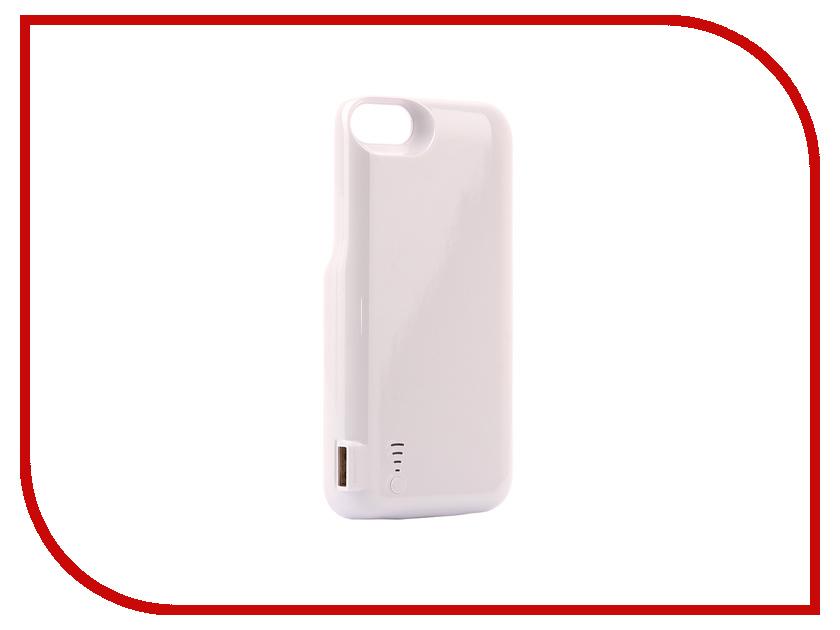 Аксессуар Чехол-аккумулятор Activ JLW 7GD-2 для iPhone 7 / 8 5000mAh White 77552 аксессуар чехол накладка micromax canvas viva a106 activ silicone black mat 46857
