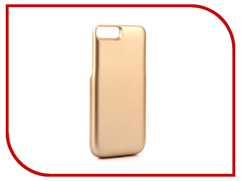 Аксессуар Чехол-аккумулятор Activ JLW 7PA для iPhone 7 Plus / 8 Plus 4000mAh Gold 77559 аксессуар чехол накладка micromax canvas viva a106 activ silicone black mat 46857