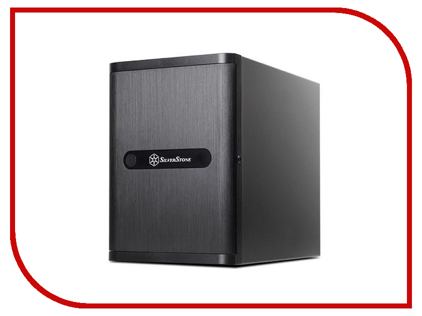 Корпус SilverStone Case Ss Storage DS380 Black SST-DS380B high luxury 6 12 18 grids lucency acrylic display storage watch boxes case hour wooden black leather help sale