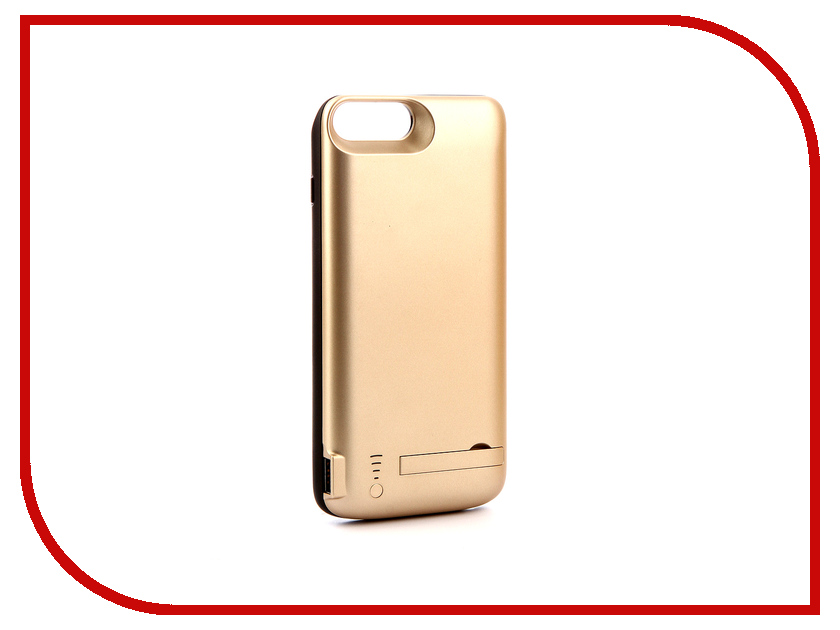 Аксессуар Чехол-аккумулятор для APPLE iPhone 7 Plus / 8 Plus Activ JLW 7PD-2 8000mAh Gold 77563 аксессуар чехол rock elite series для iphone 7 plus brown