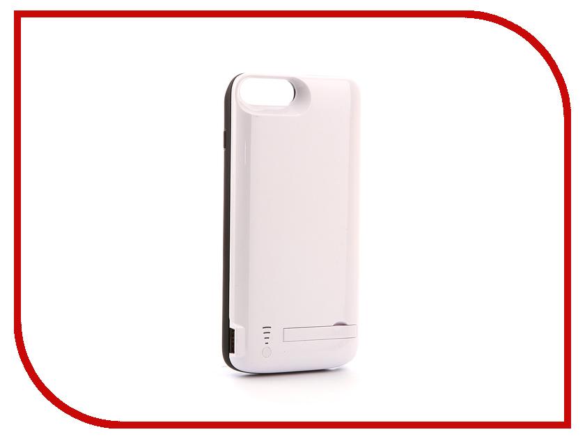 Аксессуар Чехол-аккумулятор Activ JLW 7PD-2 для iPhone 7 Plus / 8 Plus 8000mAh White 77564 аксессуар защитное стекло activ 3d rose для apple iphone 7 69557