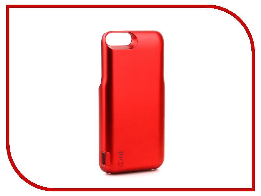Аксессуар Чехол-аккумулятор Activ JLW 7PR-2 для iPhone 7 Plus/8 Plus 7200mAh Red 77567 аксессуар чехол накладка micromax canvas viva a106 activ silicone black mat 46857