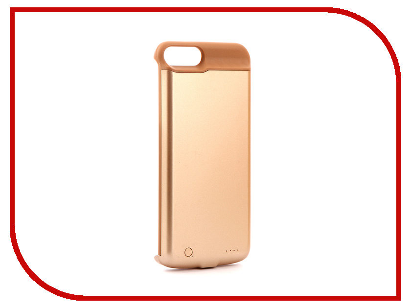 Аксессуар Чехол-аккумулятор Activ JLW 7PT для iPhone 7 Plus/8 Plus 5000mAh Gold 77570 аксессуар защитное стекло activ 3d red для apple iphone 7 plus 69759