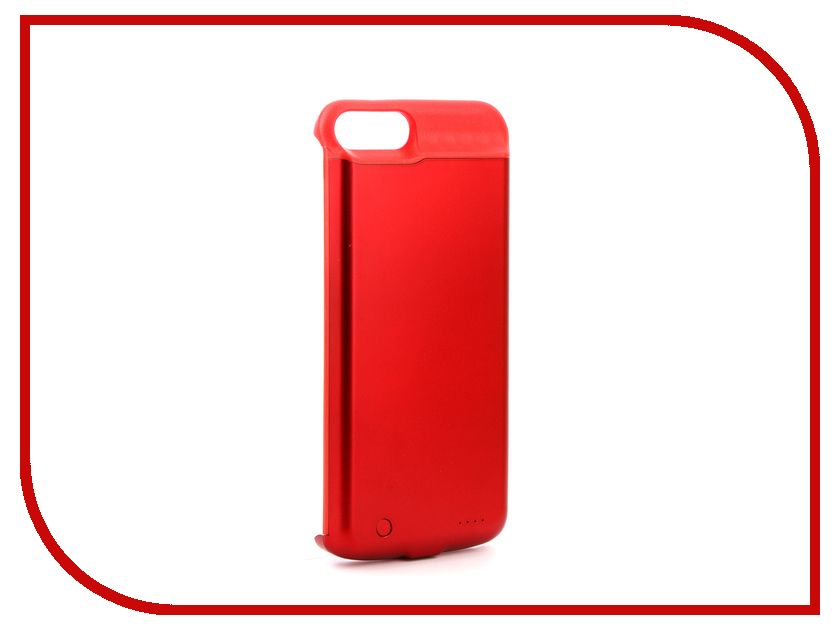 Аксессуар Чехол-аккумулятор Activ JLW 7PT для iPhone 7 Plus/8 Plus 5000mAh Red 77571 аксессуар чехол накладка micromax canvas viva a106 activ silicone black mat 46857