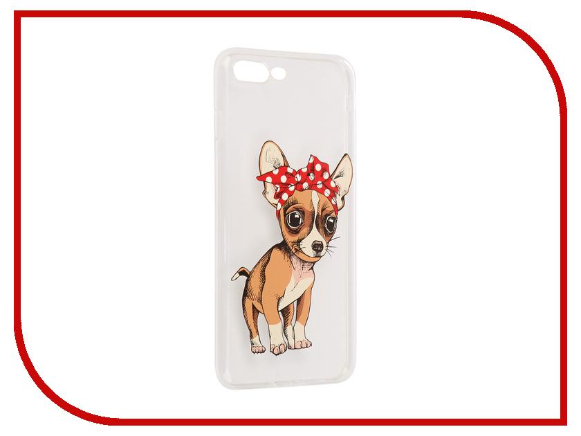 все цены на Аксессуар Чехол iPapai Питомцы Чихуахуа Silicone для APPLE iPhone 7 Plus онлайн