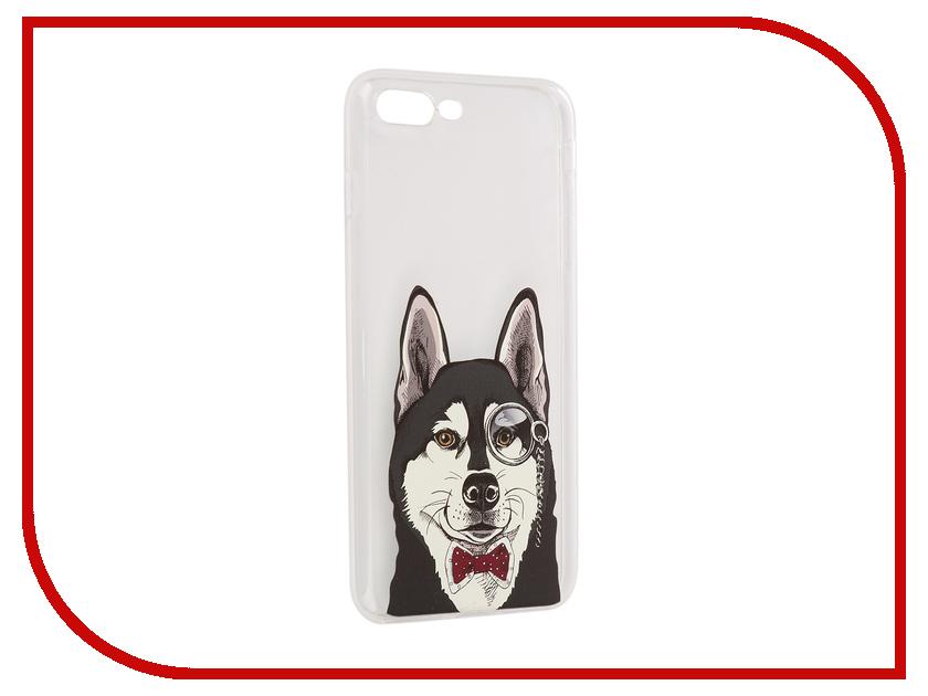 все цены на Аксессуар Чехол iPapai Питомцы Хаска Silicone для APPLE iPhone 7 Plus онлайн