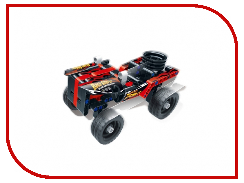 Конструктор SDL KID-CONSTRUCT Кроссовер 135 дет. Black 2018A-8 футболка destructo construct black