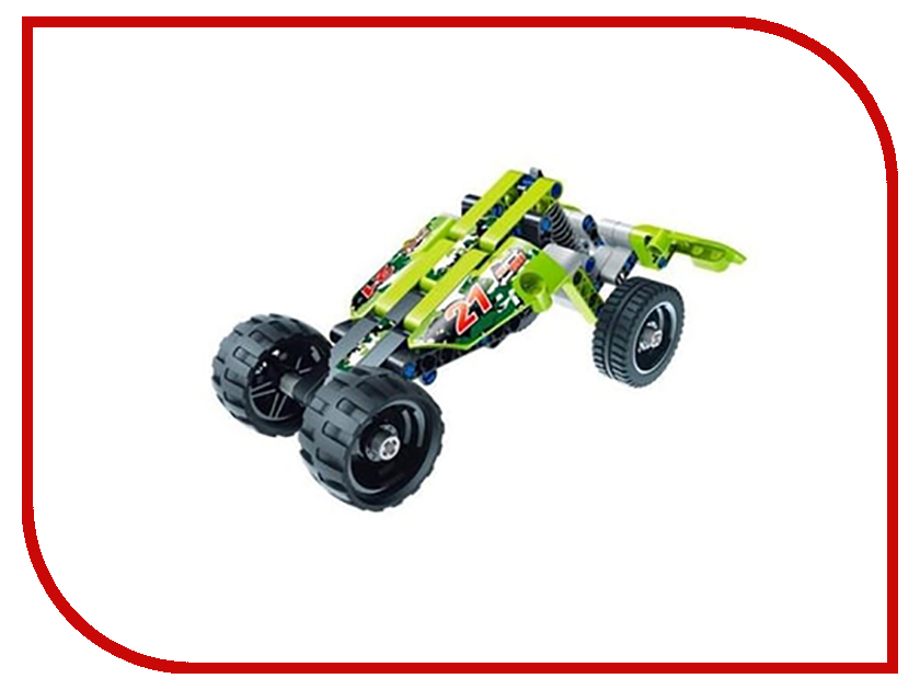 Конструктор SDL KID-CONSTRUCT Кроссовер 135 дет. Green 2018A-6 футболка destructo construct black
