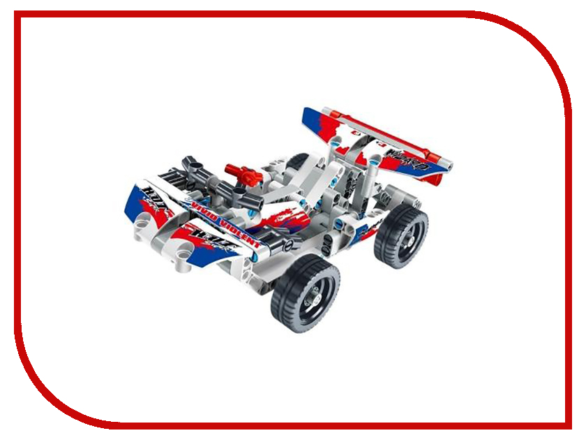 Конструктор SDL KID-CONSTRUCT Кроссовер 168 дет. White 2018A-2 футболка destructo construct black