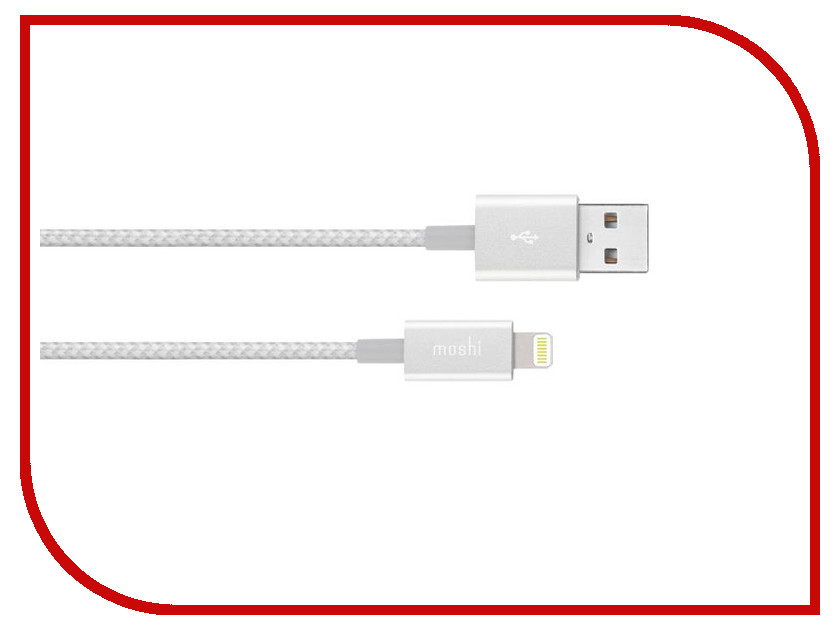 Аксессуар Moshi Integra Lightning to USB Cable 1.2m Silver 99MO023104 moshi monsters monsteriffic comic collection