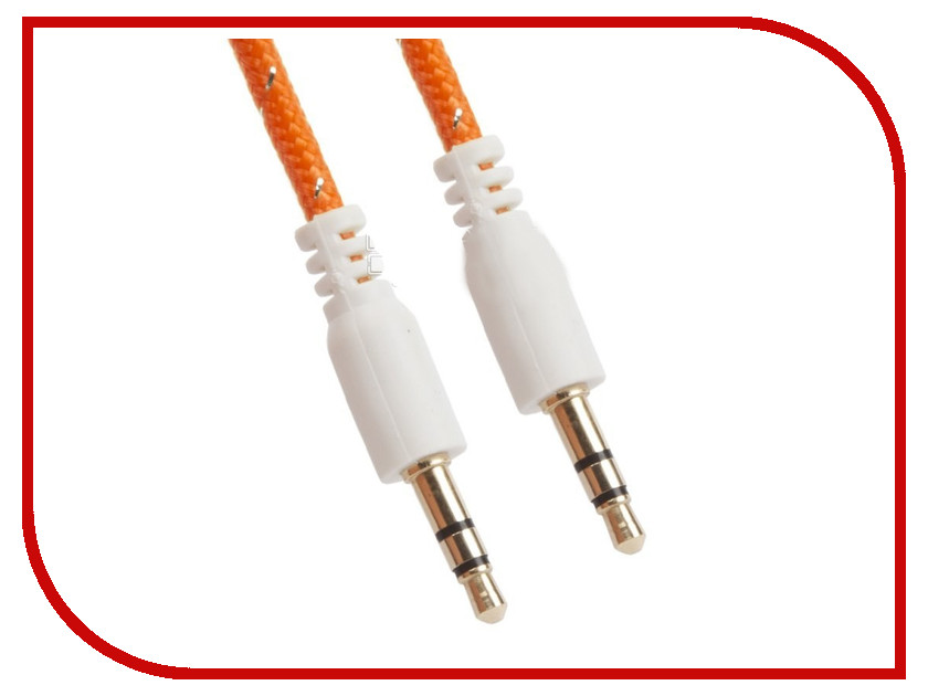 Аксессуар Liberty Project 3.5 Jack/M - 3.5 Jack/M 1m Orange 0L-00030063
