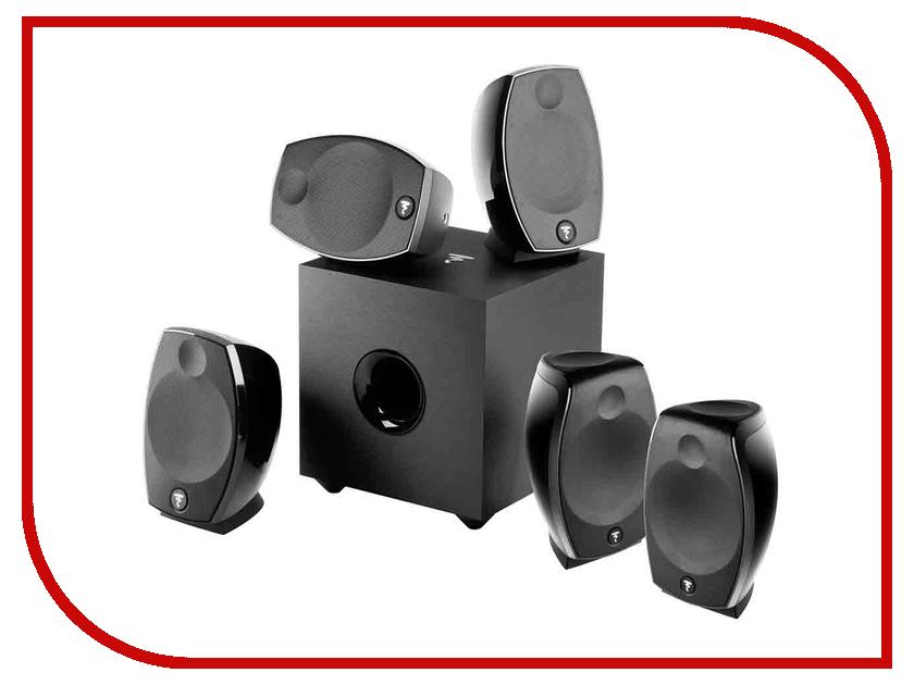 Колонки Focal Multimedia АС SIB EVO 5.1 Black колонки denon sc m41 ас scm41bkem