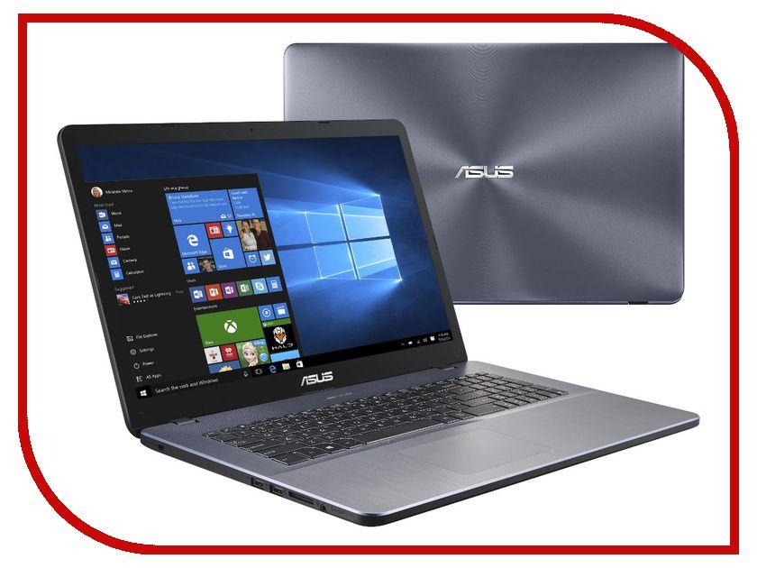 Ноутбук ASUS X705UV-BX226T 90NB0EW2-M02460 (Intel Core i3-6006U 2.0 GHz/8192Mb/1000Gb/No ODD/nVidia GeForce 920MX 2048Mb/Wi-Fi/Bluetooth/Cam/17.3/1600x900/Windows 10 64-bit) ноутбук lenovo 320s 15isk 80y90002rk intel core i3 6006u 2 0 ghz 4096mb 1000gb no odd nvidia geforce 920mx 2048mb wi fi cam 15 6 1366x768 windows 10 64 bit