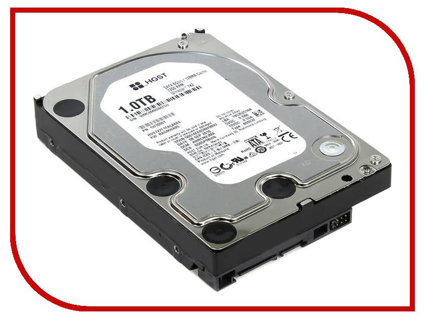 Жесткий диск 1Tb - HGST Ultrastar 7K2 HUS722T1TALA604 / 1W10001 жесткий диск hgst ultrastar 7k2 512n 1tb 3 5
