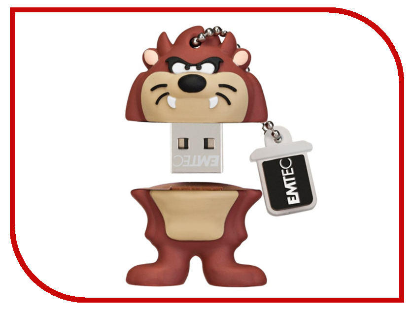 USB Flash Drive 4Gb - Emtec L103 Taz EKMMD4GL103<br>
