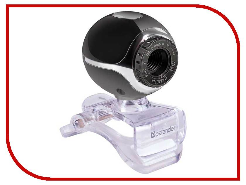 цена на Вебкамера Defender C-090 Black 63090