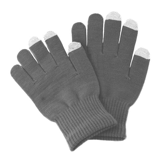 Теплые перчатки для сенсорных дисплеев iGlover Classic р.UNI Grey