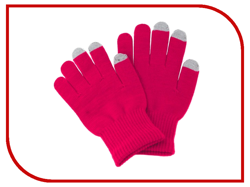 Теплые перчатки для сенсорных дисплеев iGlover Classic Pink<br>