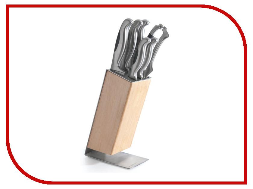 Набор ножей Berghoff Hollow New 1307169 набор кухонных ножей квартет кизляр