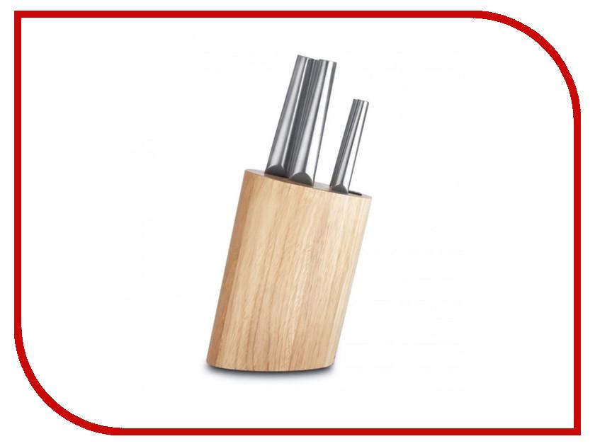 Набор ножей Berghoff Hollow Eclipse 3700173 набор керамических ножей 3 предмета berghoff eclipse 3700419