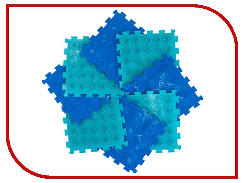Развивающий коврик Орто Пазл Микс Тропа здоровья игровые коврики орто пазл напольное покрытие микс базовый