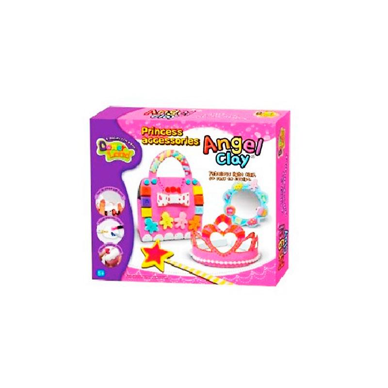 цена на Набор для лепки Donerland Angel Clay Princess Accessories AA14031