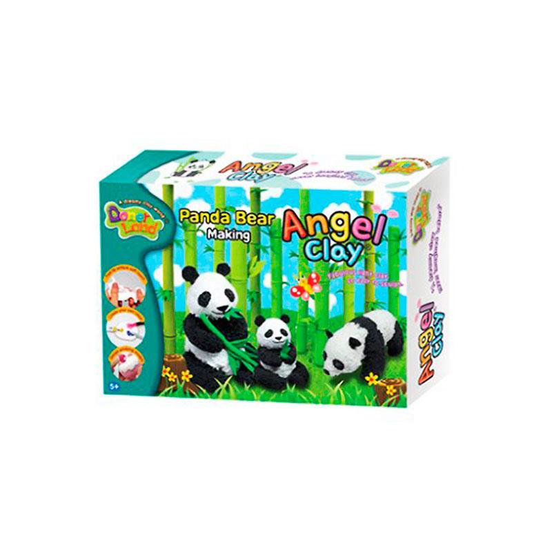 цена на Набор для лепки Donerland Angel Clay Panda Bear Making AA02031
