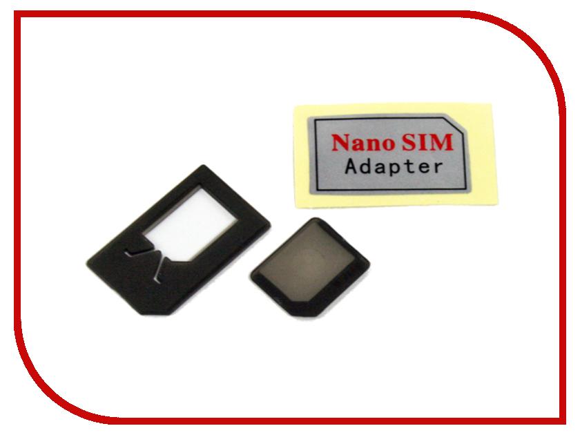 Аксессуар Liberty Project Переходники NanoSIM на SIM и MicroSIM карты CD126195