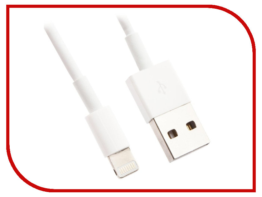 Аксессуар Liberty Project Кабель USB - Lightning White CD126580