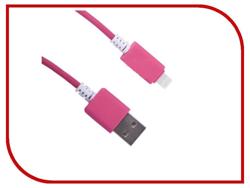 Аксессуар Liberty Project Кабель USB - Lightning 1.5m Pink 0L-00000700 аксессуар liberty project кабель usb lightning 1m white light blue 0l 00030547