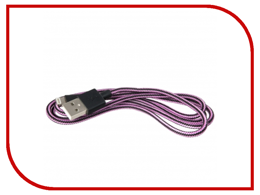 Аксессуар Liberty Project Кабель USB - Lightning Pink/Black SM001591 liberty presidential 25buw br mt