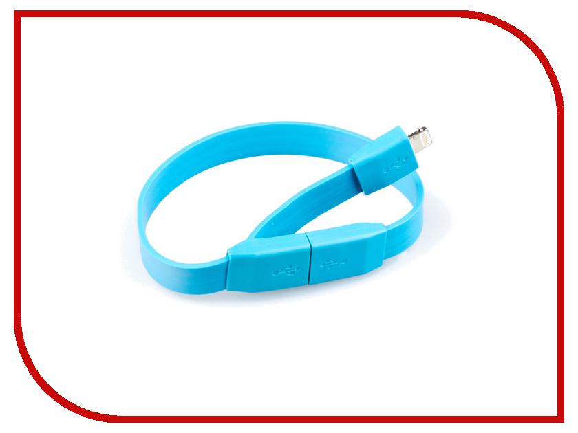 Аксессуар Liberty Project Кабель Браслет USB - Lightning Light Blue SM001781 рубашка в клетку insight liberty pit blue