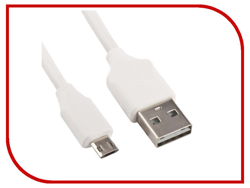 Аксессуар Liberty Project USB - Micro USB 1m White 0L-00027585 usb 2 0 male to micro usb male data sync charging cable for amazon ebook reader white 180cm