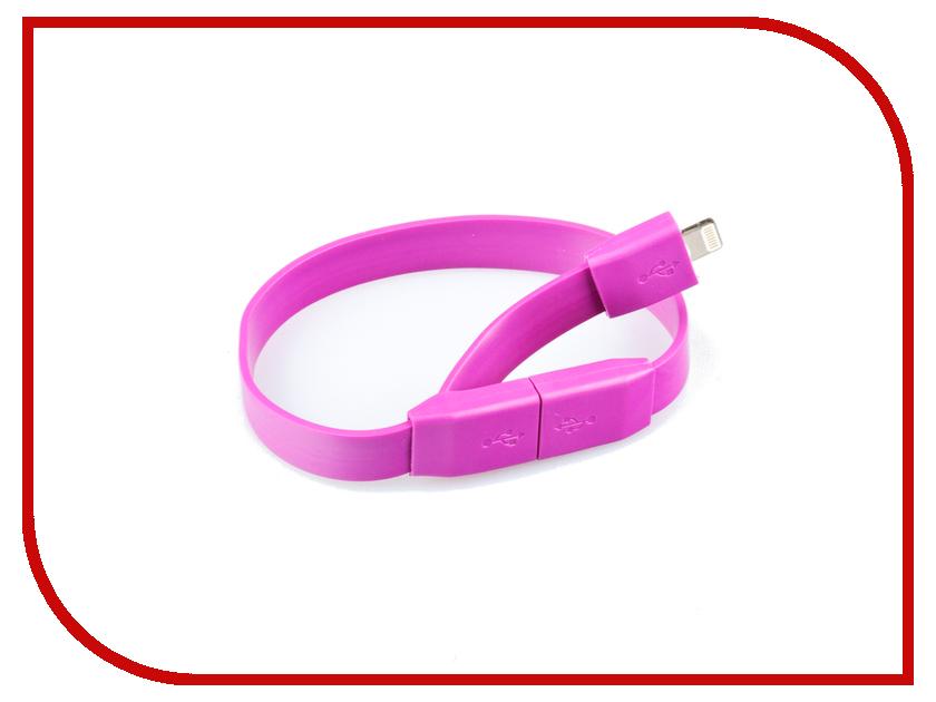 Аксессуар Liberty Project Кабель Браслет USB - Lightning Lilac SM001780